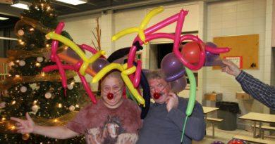 Un party de Noël Rudolfesque